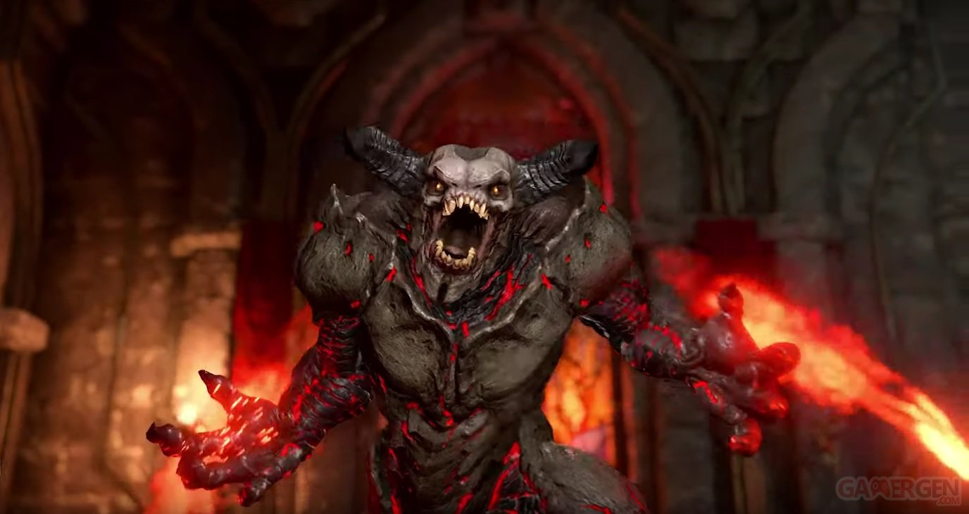 La version physique annulée sur Switch — DOOM Eternal