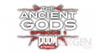DOOM Eternal DLC The Ancient Gods Part One logo 07 08 2020