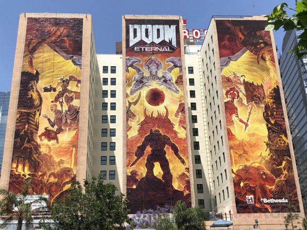 DOOM Eternal fresque 02 08 06 2019