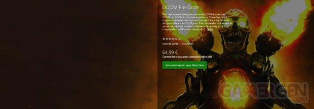 Doom precommande jeux gratuits