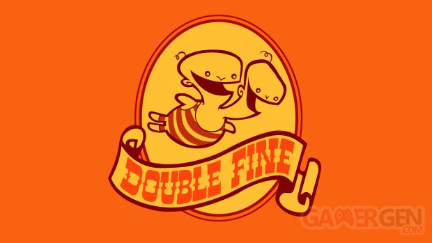 Double Fine Productions Logo Large
