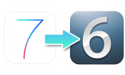 downgrade ios7 ios6 vignette