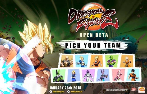 Dragon Ball FigherZ image beta