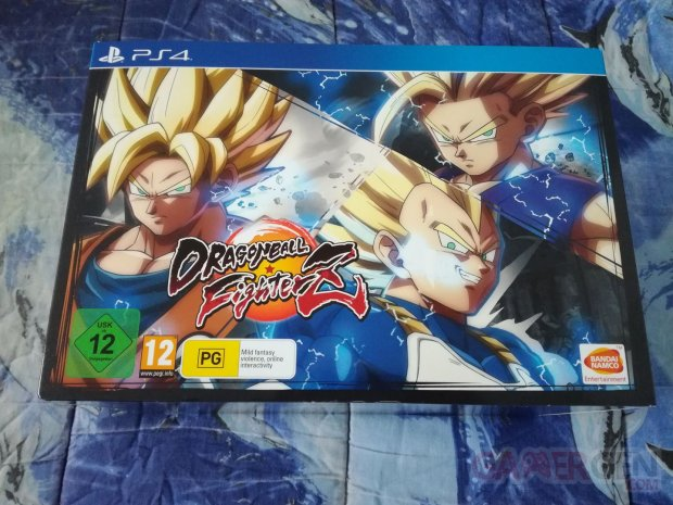 Dragon Ball FighterZ collector unboxing déballage 01 07 02 2018