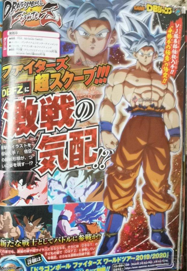 Dragon Ball FighterZ image Goku Ultra Instinct