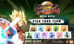 dragon ball fighterz liste complete personnages jouables beta neuf parages