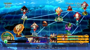 Dragon Ball FighterZ mode histoire map 22 10 2017