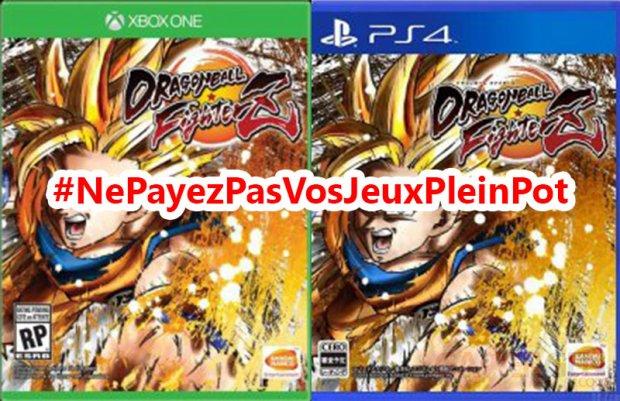 Dragon Ball FighterZ NePayezPasVosJeuxPleinPot
