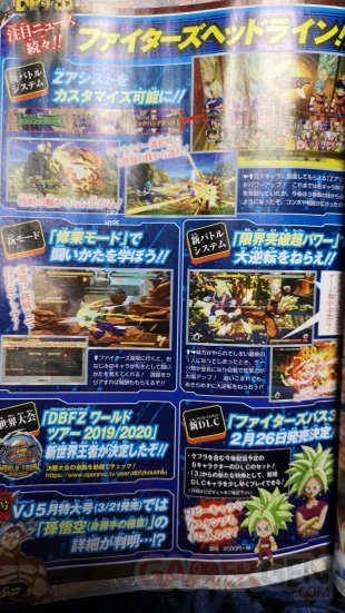 Dragon Ball FighterZ scan Kefla 02 19 02 2020