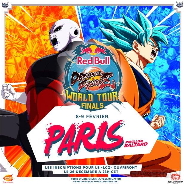 Dragon Ball FighterZ World Tour Finals poster