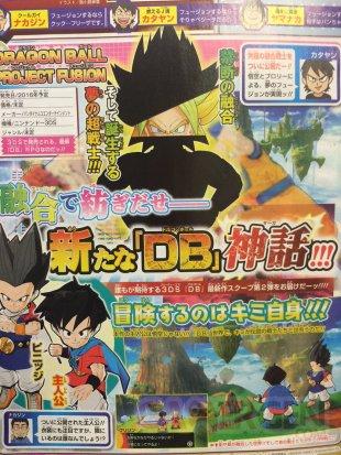 Dragon Ball Project Fusion  scan broly goku