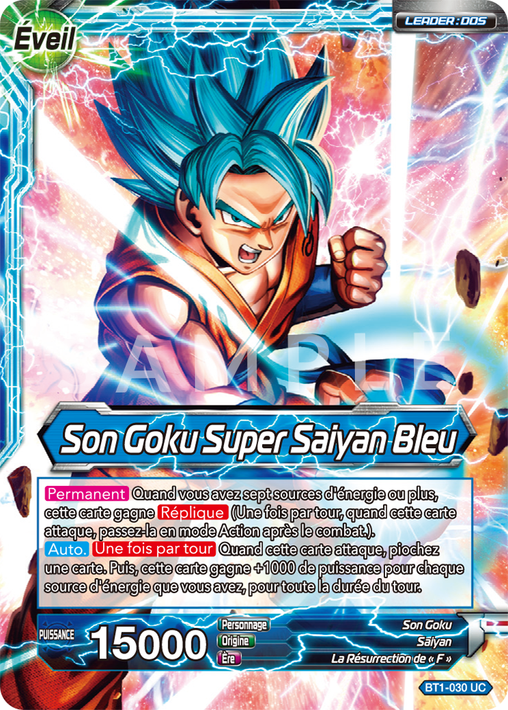Dragon Ball Super Card Game Cartes images (4)