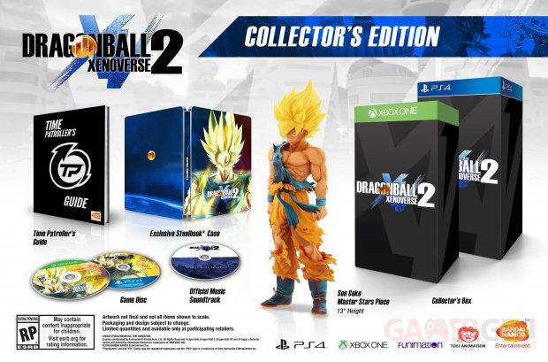 Dragon Ball Xenoverse 2 Amerique du nord edition collector image