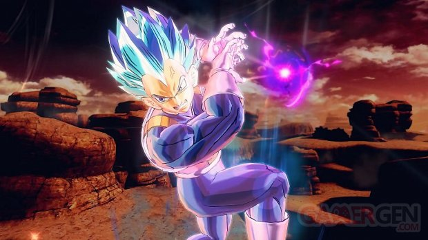 Dragon Ball Xenoverse 2 SSGSS Evolue Image personnage DLC