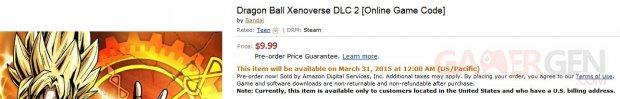 Dragon Ball Xenoverse second DLC pack