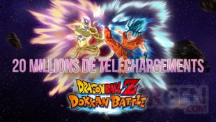 Dragon Ball Z Dokkan Battle 20 millions telechargements cadeaux (1)