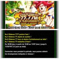 Dragon Ball Z Dokkan Battle bonus connexion 77,77 telechargements images (5)