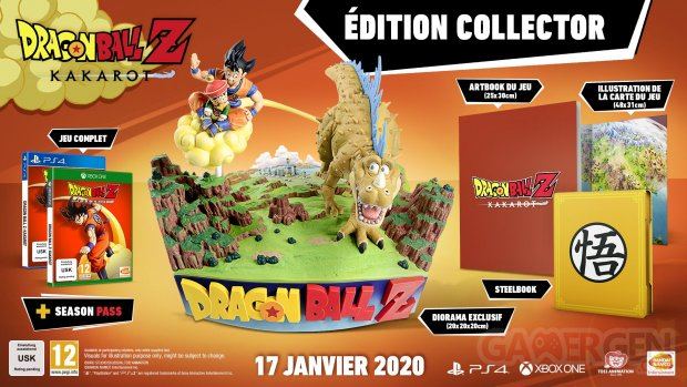 Dragon Ball Z Kakarot collector fr 12 09 2019