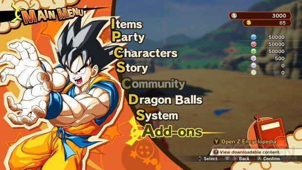 Dragon Ball Z Kakarot Un Nouveau Pouvoir s'éveille Partie 1 screenshot 2