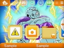 dragon ball z theme 3ds 2