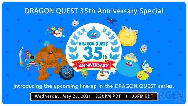 Dragon Quest 35th Anniversary Special direct live head