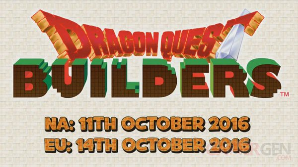 Dragon Quest Builders 14 06 2016 date