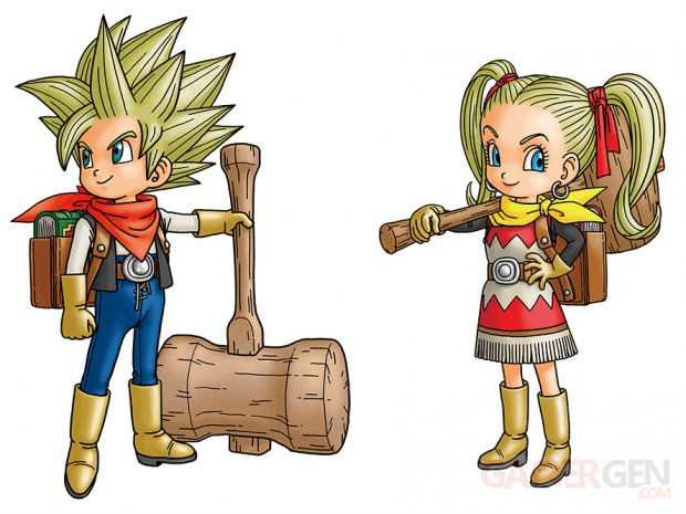 Dragon Quest Builders 2 personnages principaux 02 04 2018