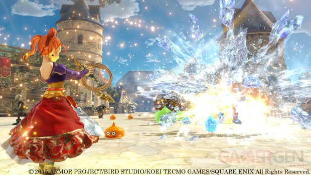 Dragon Quest Heroes Jessica Yangus monstres  images 2