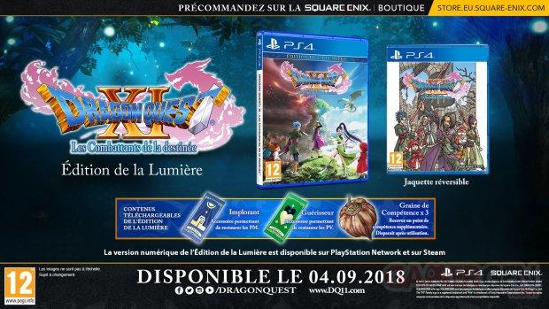 Dragon Quest XI édition de la Lumière 11 06 2018