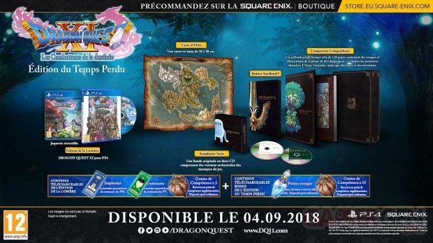 Dragon Quest XI édition du Temps Perdu 11 06 2018