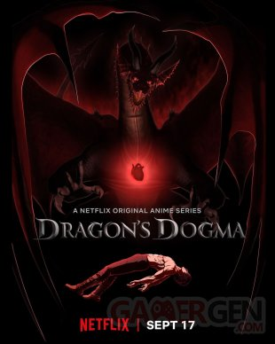 Dragons Dogma anime Netflix poster 15 07 2020