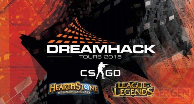 dreamhack tours 2015 lol cs go hearthstone