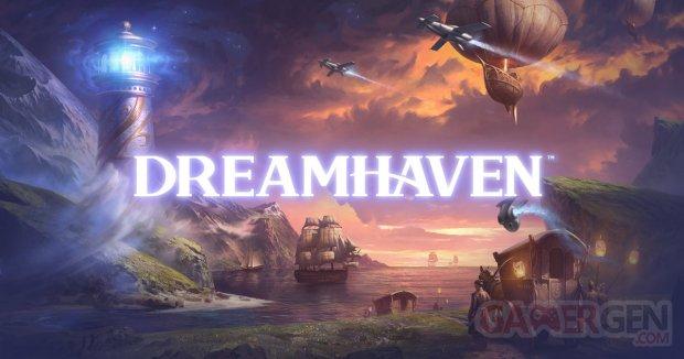 Dreamhaven studio head logo