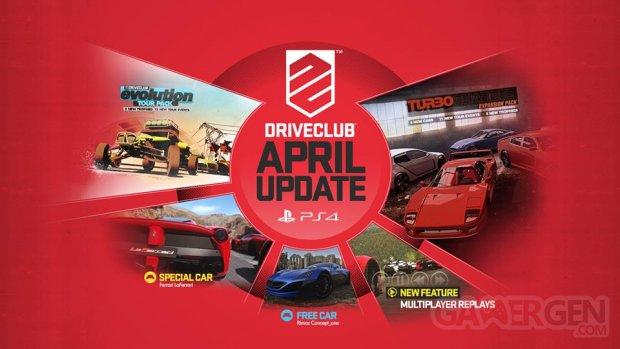 DRIVECLUB mise a? jour DLC avril 3
