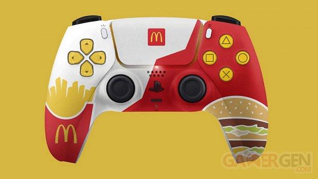 DualSense PS5 McDonalds manette image