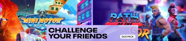 Duo Pack Banniere Challenge Your Friends