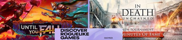 Duo Pack banniere Discover Roguelike Games