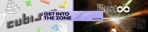 Duo Pack Banniere Get Into The zone