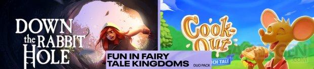 Duo Pack Divertissement aux royaumes de contes
