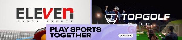 Duo Pack Faites du sport ensemble bandeau
