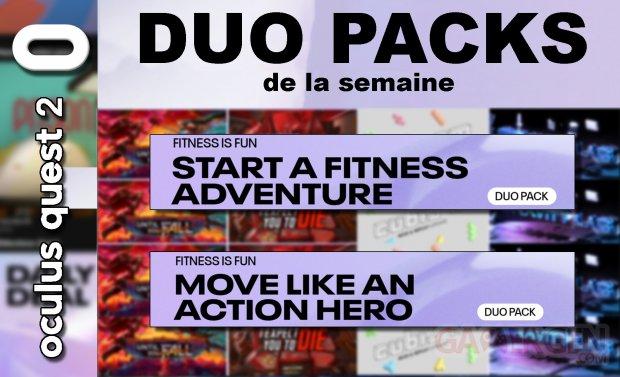Duo packs de la semaine 9 juillet 2021