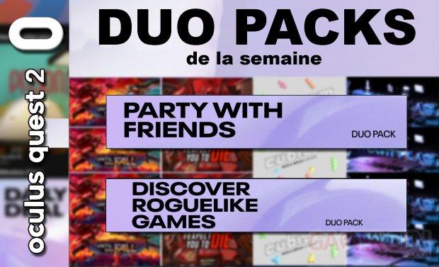 Duo packs de la semaine masque vignette 29 mai 2021