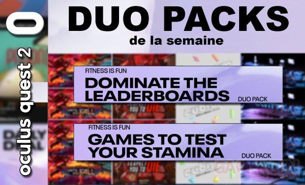 Duo packs de la semaine masque vignette 4 juillet 2021