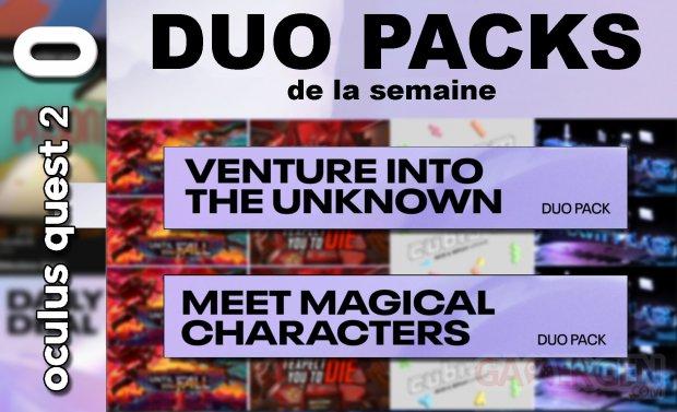 Duo packs de la semaine masque vignette 4 juin