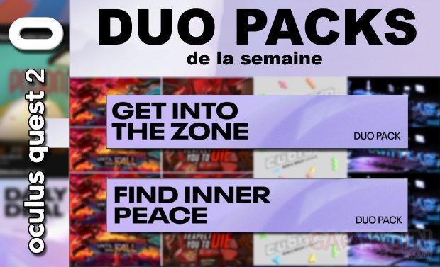 Duo packs de la semaine vignette 11 juin 2021