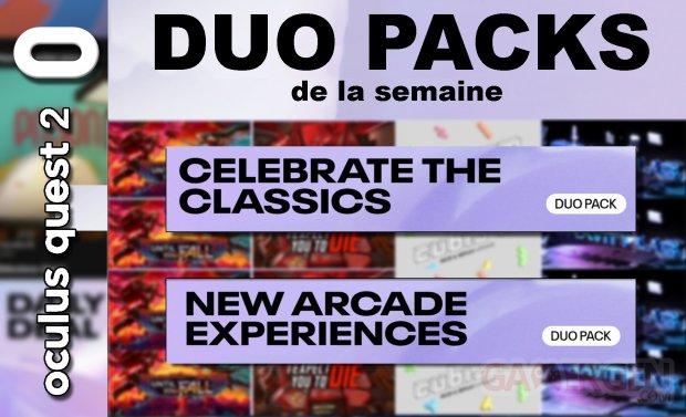 Duo packs de la semaine vignette 30 juillet 5 aout 2021