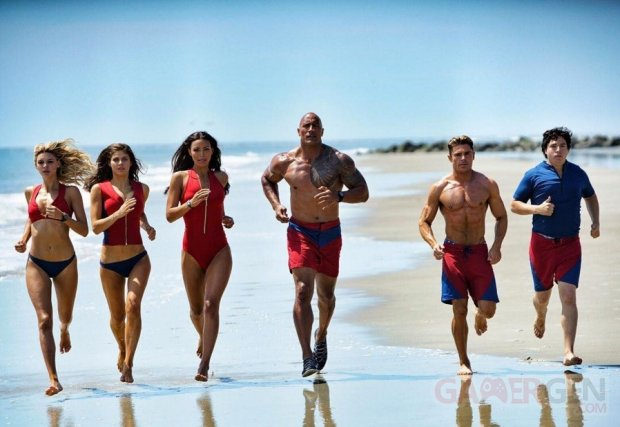 Dwayne Johnson The Rock Baywatch