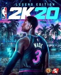 Dwayne Wade NBA 2K20 jaquette cover star