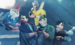 Dying Light crossover Left 4 Dead 2 Bill key art
