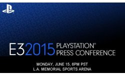 e3 2015 invitation presse sony